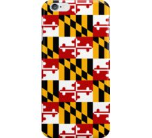 Smartphone Case - State Flag of Maryland  - Patchwork iPhone Case/Skin