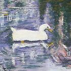 Venetian Duck (pastel) by Niki Hilsabeck