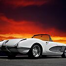 1959 Corvette Roadster IX by DaveKoontz