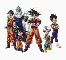 DRAGONBALL Z GANG by Shannondean1981
