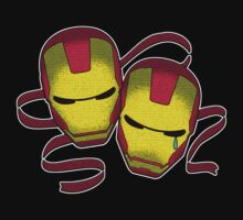 Iron Man Comedy Tragedy by Grandevoodoo