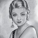 Myrna Loy by Richard Eijkenbroek