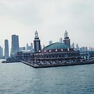 Navy Pier by CanoeComsArt