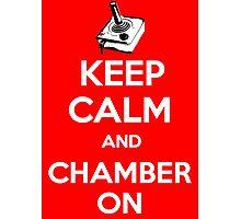 Keep Calm Poster Photographic Print