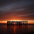 Pilot Pier (sunset) by PaulBradley