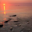 Lake Michigan, Sunset by Michael Treloar