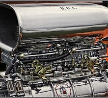 Not your everyday car engine by Wolf Sverak