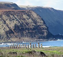 Easter Island Requiem by Jola Martysz