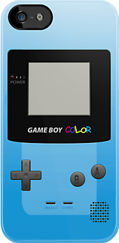 Gameboy Color Blue by Vinizzz