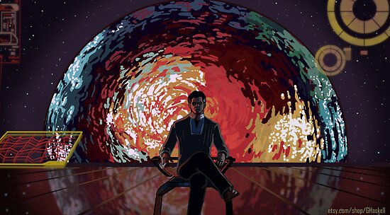 Mass Effect Cartoon - The Illusive Man by GHaskell