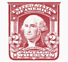 USA George Washington Postage Stamp by TravelShop