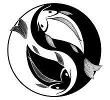 Nishikigoi - Yin and Yang by BenedictinePunk