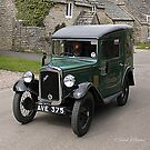 Austin 7 Van by David  Barker