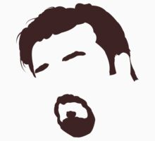 David Brent (Ricky Gervais)  -The Office Minimal Head by Posteritty