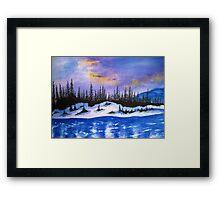 Canadian wilderness Framed Print