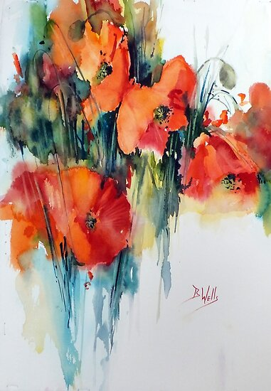 Poppy by Bev  Wells