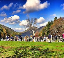 Jordan Pond Restaurant, Acadia National Park, Maine, USA by fauselr