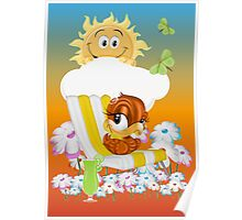 Lazy Summer Days Poster