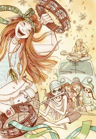 Hippy Fiesta by ElenaMyko