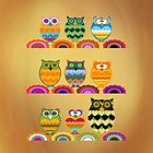 Owls - Class Photo by harietteh