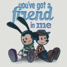 You've Got A Friend In Me - Mickey Mouse and Oswald The Lucky Rabbit as Woody and Buzz Lightyear by The Variable