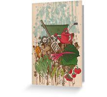 Veggie Garden Greeting Card