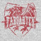 House Targaryen Vintage Logo by AReliableSource