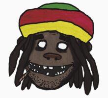 Gorillaz Styled Rastafarian by herbertron