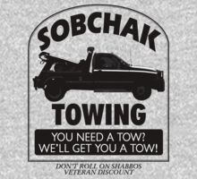The Big Lebowski Inspired - Sobchak Towing - You Want a Toe? by traciv
