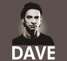 Depeche Mode : Dave - White by Luc Lambert