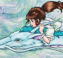 Spirited Away by Kimberly Castello
