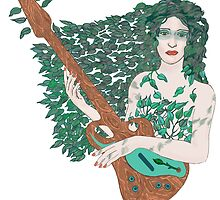 Dryad's Axe by redqueenself