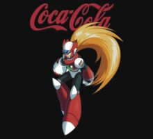 Mega Man X: Coca Cola Zero by Liam Hole