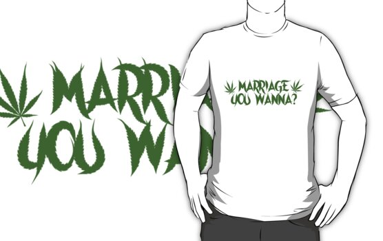 My Crazy Girlfriend - Marriage You Wanna? Tee by MyCrazyGfMusic