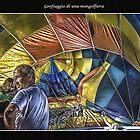 Gonfiaggio di una mongolfiera by Gennaro Mazza