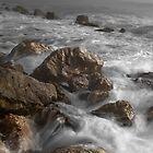 Swirling Surf by Jim Semonik