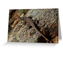 Reptilian Greeting Card