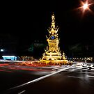 Clock Tower, Chiang Rai by Duane Bigsby
