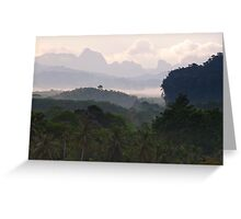 Kao Sok, Thailand Landscape Greeting Card