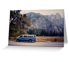 Yosemite vans Greeting Card