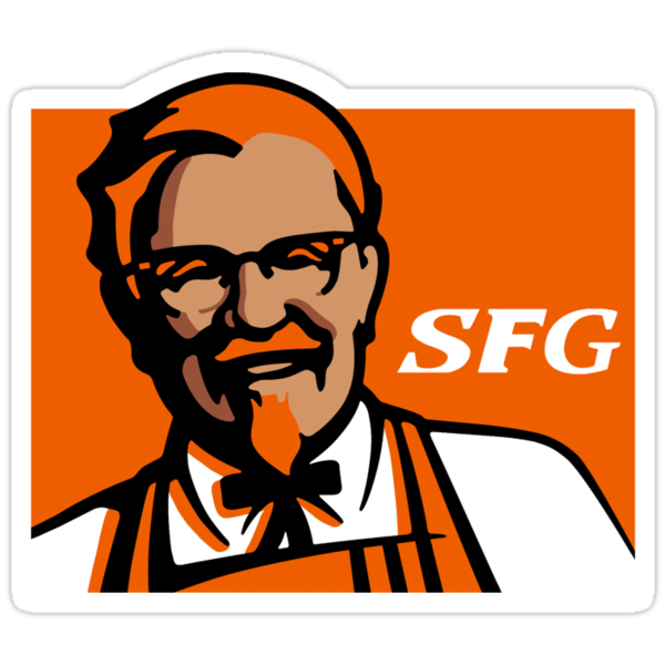SF Giant Col. Sanders by sflassen