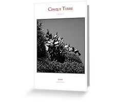 Cinque Terre National Park Greeting Card