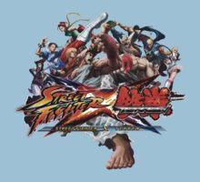 Street Fighter x Tekken Kids Clothes