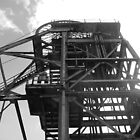 Haig Pit Colliery, Pit head, Whitehaven, Cumbria, UK by Jennifer Mosher