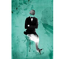 swan+man Photographic Print