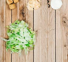 Deconstructed Caesar Salad.  by sallyrose1