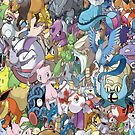 Pokemon Mix by Alee7