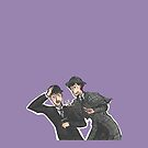 Holmes and Watson by mcfoily