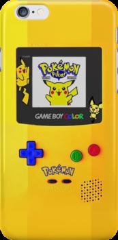 Pokemon Gameboy Case iPhone 4 by Jordan Bails