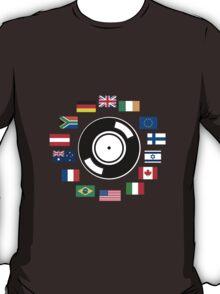 World wide DJ T-Shirt